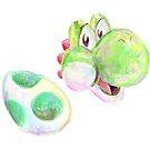 Yoshi and Egg by Rabbott