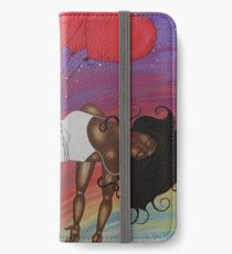 LOVE LIFTS US UP iPhone Wallet/Case/Skin