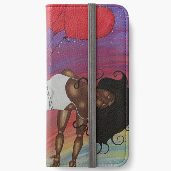 LOVE LIFTS US UP iPhone Wallet