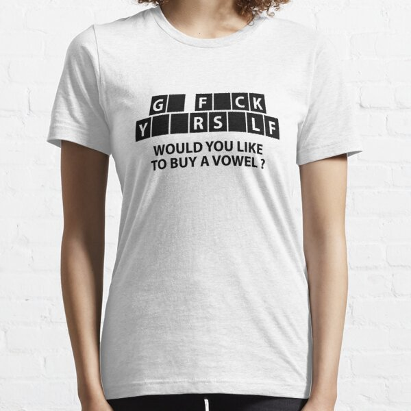 Would You Like To Buy A Vowel? Essential T-Shirt