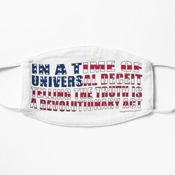 Revolutionary Act Flat Mask
