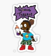 Young Thugrat Sticker