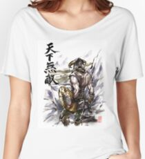 Unbeatable Dragonborn Sumi/watercolor Women's Relaxed Fit T-Shirt