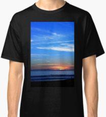 Sunset Ocean Blue Classic T-Shirt