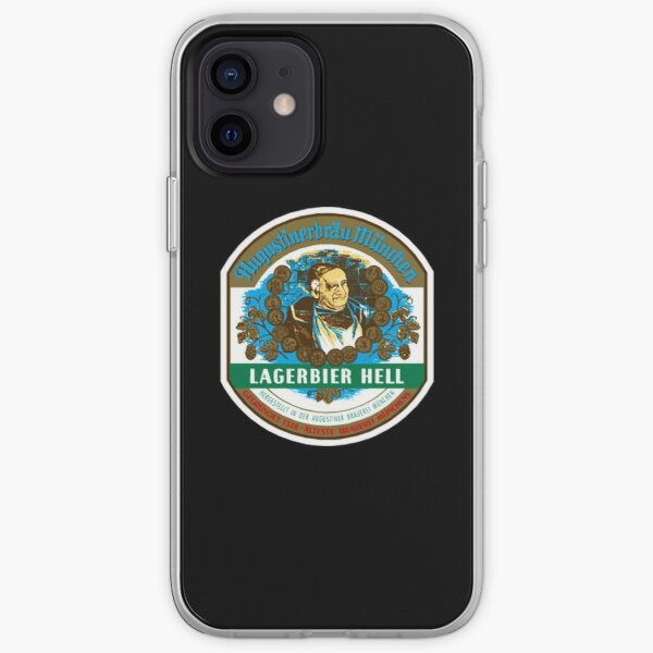 Augustiner Hell beer iPhone Soft Case