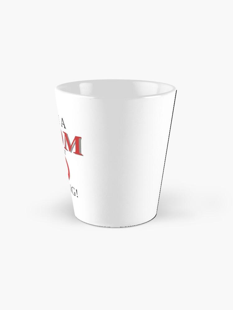 Alternate view of I am a MOM against VAPING! Mug