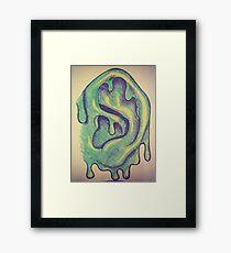 Slime Ball Framed Print