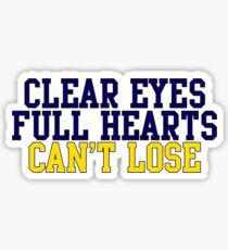 CLEAR EYES!!!!! Sticker