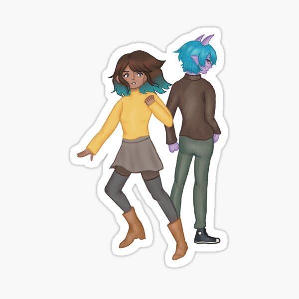 Maia & Emet Sticker