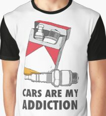 Cars are my addiction Graphic T-Shirt