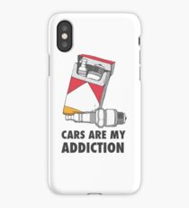 Cars are my addiction iPhone Case/Skin
