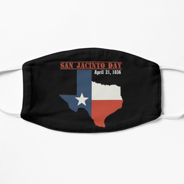 san jacinto day, san jacinto day texas, san jacinto day independence Flat Mask