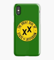 State of Jefferson iPhone Case