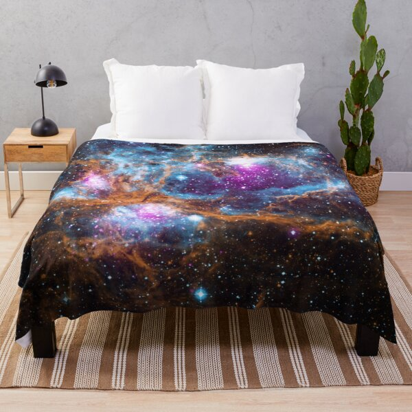 Life and Death Intermingled Throw Blanket