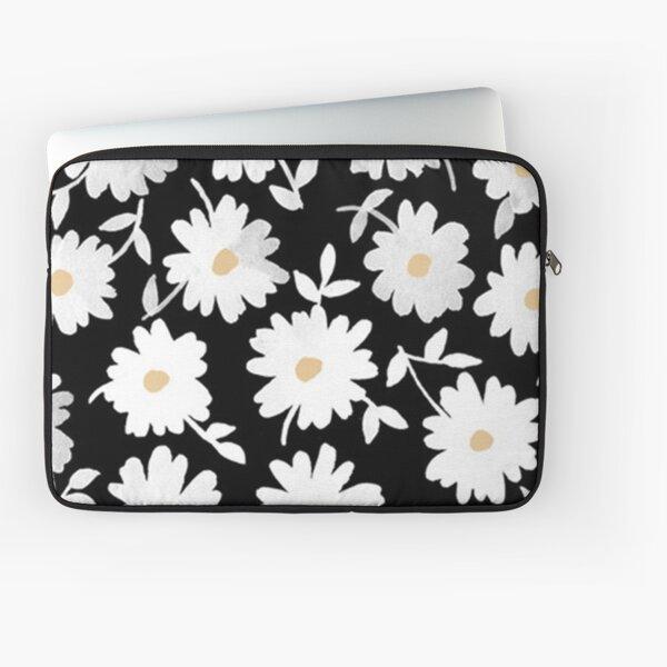 All over Daisy Print Laptop Sleeve