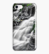 Leura cascades selective colour iPhone Case/Skin