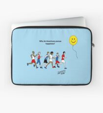 Why do Americans pursue Happiness? Laptop Sleeve