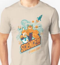 Science!!! It Knows Stuff! (blue) T-Shirt