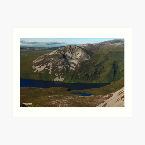 Aghla More From Errigal Art Print