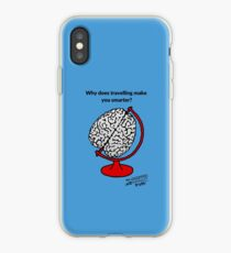 Why does travelling make you smarter? iPhone Case