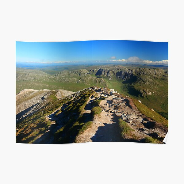 Looking South From Mount Errigal Poster