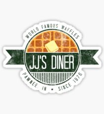 jj's diner - color Sticker