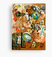 Time Scale. Canvas Print