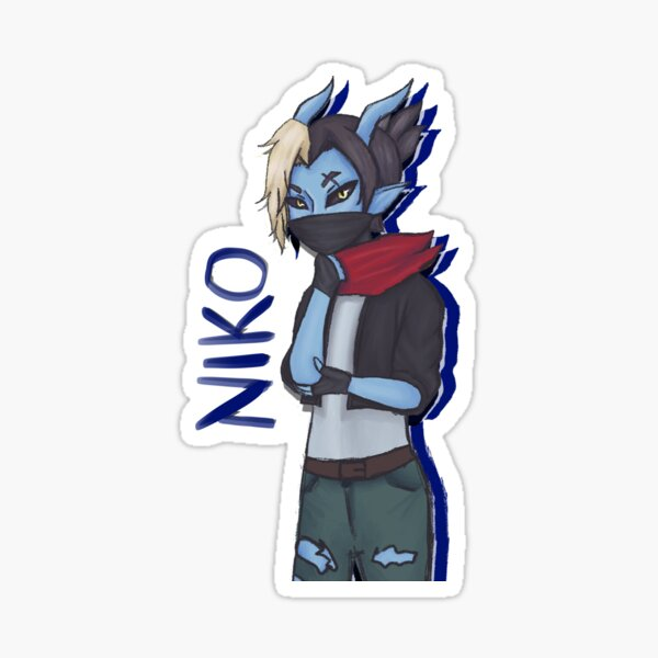 Character Series: Niko Sticker