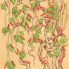 Salamanders in the Chilli Bush by Elena Leong