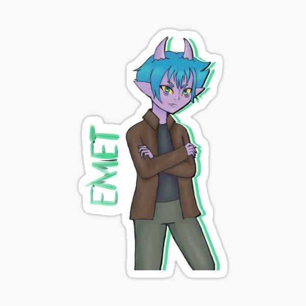 Character Series: Emet Sticker