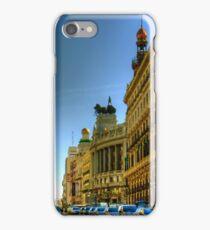 Calle de Alcalá, Madrid iPhone Case/Skin
