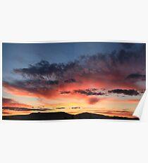 sunset Winnemucca  Poster