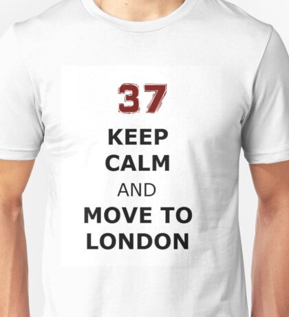 Keep Calm and Move to London 37 Jackson whittemore Unisex T-Shirt