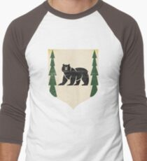 Bear Island  Men's Baseball ¾ T-Shirt