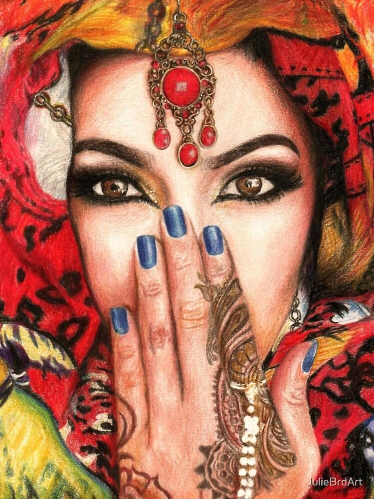 Arabic Beauty by JulieBrdArt
