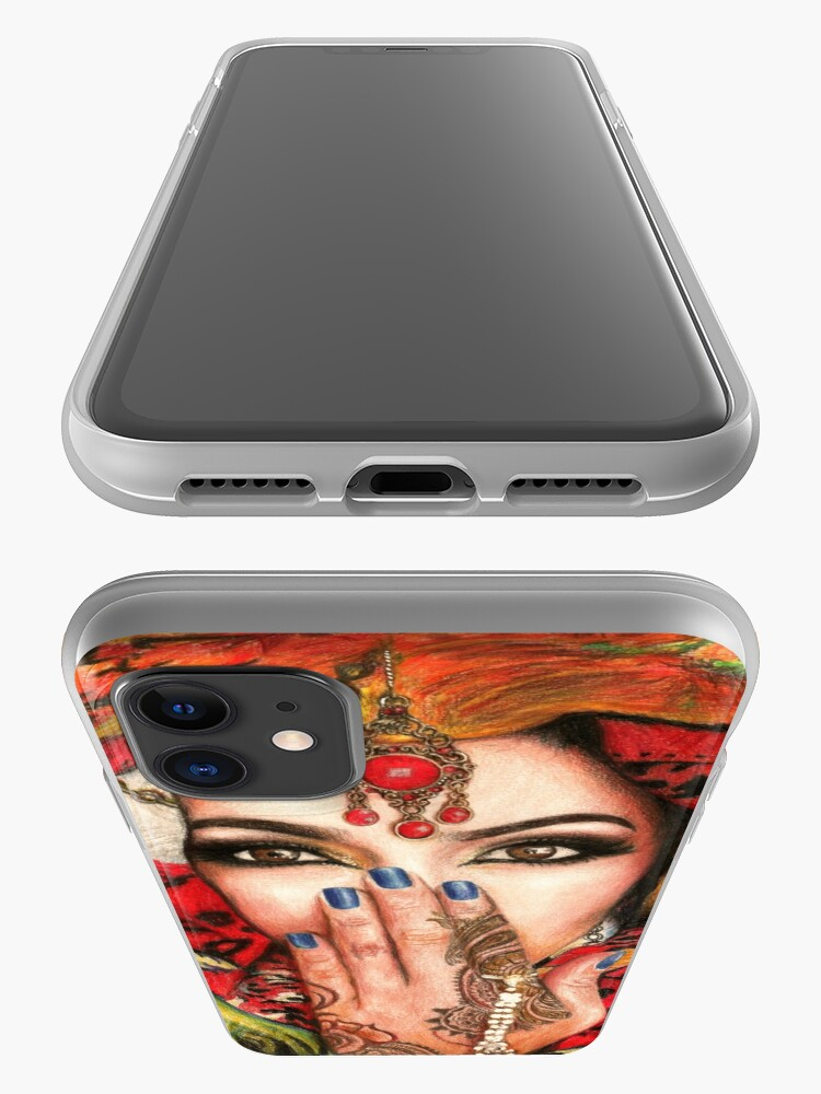 Alternate view of Arabic Beauty iPhone Case & Cover