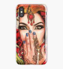 Arabic Beauty iPhone Case/Skin