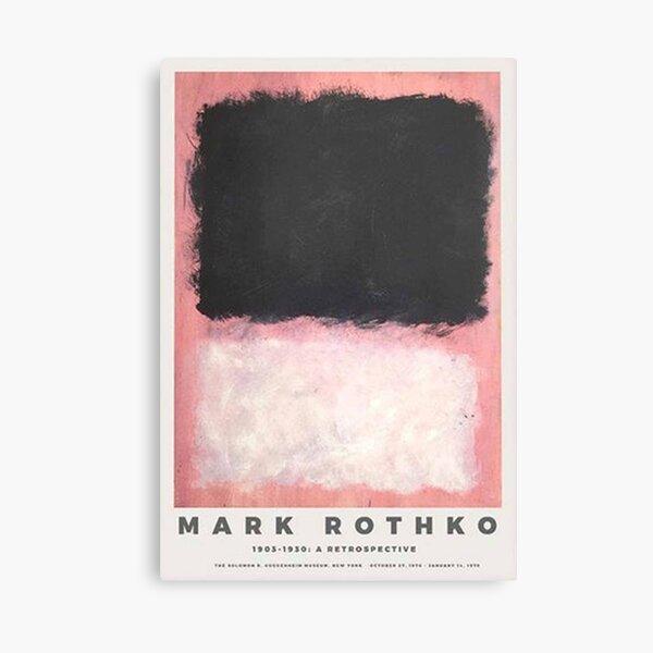 Mark Rothko para el Museo Guggenheim Lienzo