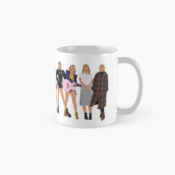 Taylor Swift Eras with evermore Classic Mug