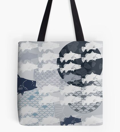 Decorative Barramundi Throw Pillow - Dark 2 Tote Bag