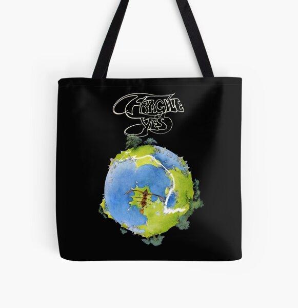 Yes Fragile Progressive All Over Print Tote Bag
