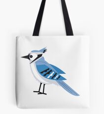American Blue Jay Tote Bag
