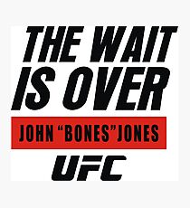 john bones jones ufc Photographic Print