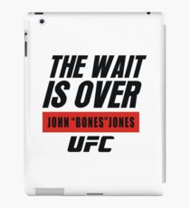 john bones jones ufc iPad Case/Skin