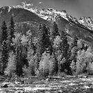 Grenadier Range and Las Animas River Study 2 by Robert Meyers-Lussier
