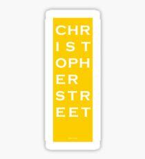 Christopher Street - NYC - Yellow Sticker