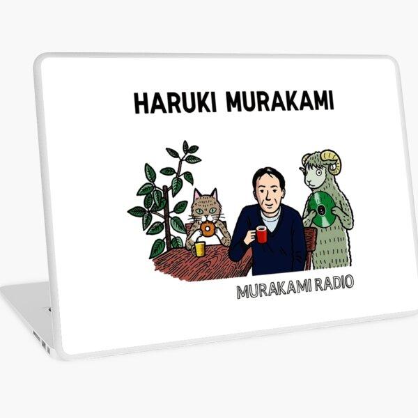 haruki murakami cartoon Vinilo para portátil