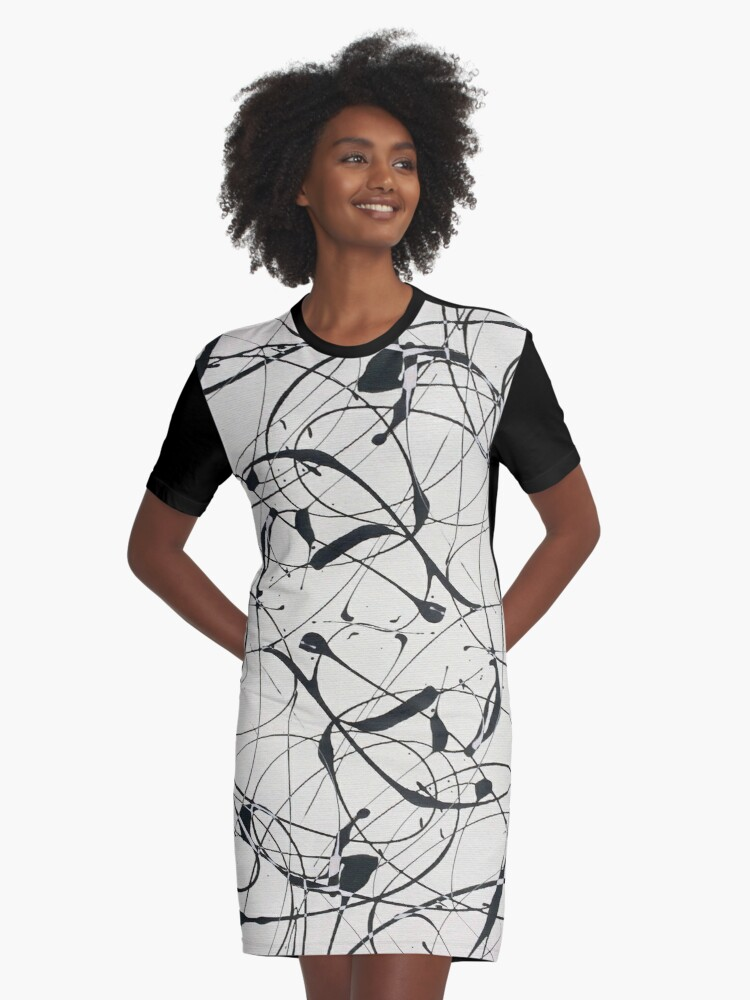 Multiply Graphic T-Shirt Dress Front