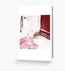 { Corners: where the walls meet #09 } Greeting Card