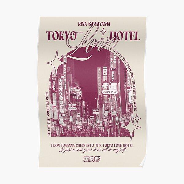 Tokyo Love Hotel Rina Sawayama Design Poster